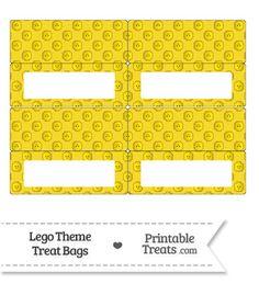 Yellow Lego Theme Treat Bag Toppers-- https://www.pinterest.com/printabletreats/lego-theme-printables/