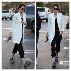 Kendall Jenner- monochromatic casual