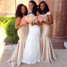 Nigerian Wedding | Lovely Bridesmaids | African Wedding