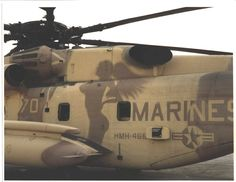 CH-53E HMH-466 During Desert Storm