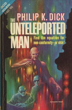 The Unteleported Man, book cover