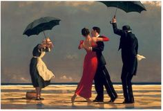 Vive, que no es poco.: Jack Vettriano: The Singing Butler