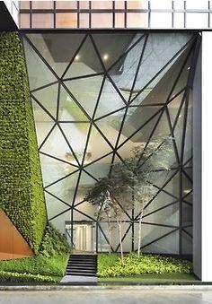 Exterior glass facade goodness