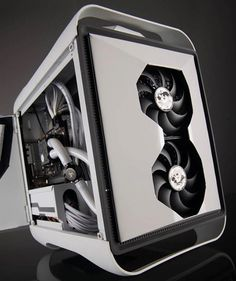 Case Mod Friday: Monochromos | Computer Hardware Reviews - ThinkComputers.org