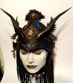 Morrigan Helm by VincentCantillon