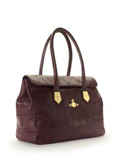 Vivienne Westwood Tartan Embossed Bag 6302 Bordeaux €760.00 7cf21411cfd2