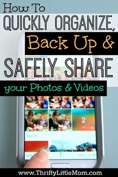 How to Quickly Organize, Back Up and Safely Share Your Photos and Videos in one place across all your devices. #sponsored
