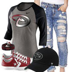 Arizona Diamondbacks Converse Outfit