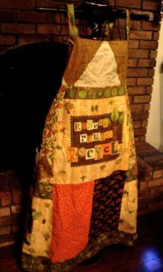 Patchwork Dress by GatheringWillows on Etsy, $40.00