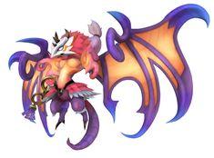 Valefor Art - World of Final Fantasy Art Gallery Final Fantasy Xv Prompto, Final Fantasy Characters, 3d Fantasy, Fantasy Monster, Character Art, Character Design, Myths & Monsters, Curious Creatures, Monster Design