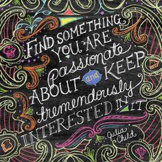 Downloadable PDF-Chalkboard Art-Find Something-10x10 by tammysmithdesign $5.00