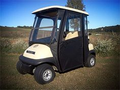 1000 images about golf cart enclosures on pinterest for Golf cart garage door prices