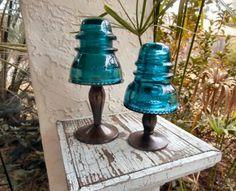 Antique glass insulators                                                                                                                                                                                 More
