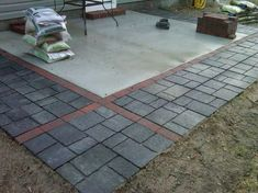 Adding Pavers To Extend Existing Patio   Google Search