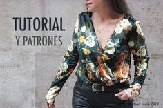 DIY Costura: Body de terciopelo (patrones gratis)   Oh, Mother Mine DIY!!