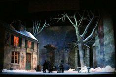 La boheme Act III. Sarasota Opera. Scenic design by David P. Gordon. 2006