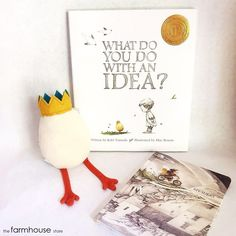 A New York Times Best Seller and award-winning book, What Do You Do With an Idea? is for anyone who's ever had a big idea. Check out this book and more great gift books at the Farmhouse Store!