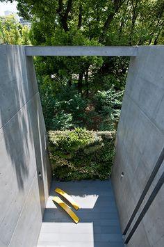 House in Utsubo Park, Osaka, Japan - Tadao Ando
