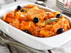 Bacalao Thai Red Curry, Carne, Macaroni And Cheese, Shrimp, Meat, Ethnic Recipes, Cod, Mac And Cheese