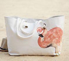 Flamingo Tote Bag #potterybarn