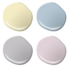 Pastel Paint Colors On Pinterest