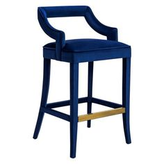 Accent your chic bar area or minimalist dining room with the TOV Furniture Tiffany Velvet 31 in. Bar Stool for hip, high-altitude seating. Dining Stools, 24 Bar Stools, Counter Height Stools, Swivel Bar Stools, Bar Chairs, Swivel Chair, Bar Counter, Office Chairs, Chair Cushions