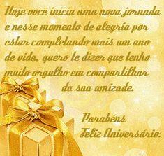 Mensagens de Aniversário para Amigos #felicidades #feliz_aniversario #parabens