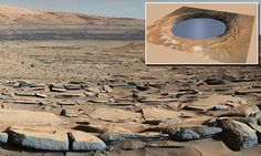 Curiosity rover finds crater was Martian LAKE that may have held life
