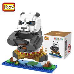 LOZ Diamond Building Blocks Movie Kung fu Panda Po Model 3D DIY Nano Bricks Toys Children Learning & Education Toys Gifts