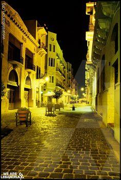 Enjoy this beautiful side of Beirut and have a wonderful night :)  استمتعوا بهالجانب من بيروت وتصبحوا على الف خير :)
