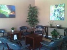 New Fort Pierce, FL All Smiles Dental Office waiting room! Swanky huh?