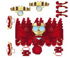ironman minion box template