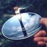 Solar Spark Lighter - Cool Camping Gadget - Survival Tool