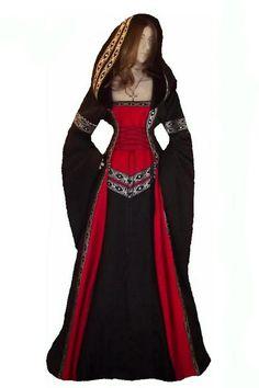 Mittelalter - Gewand*Mittelalter*Kleid*auf Maß in allen Größen - ein Designerstück von Hofkleid bei DaWanda