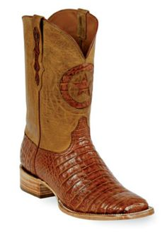 0510c98f0b Caiman Crocodile Belly Boots Style 250 Custom-Made by Black Jack Boots