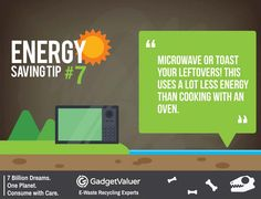 Energy Saving Tip 7   150+ Sustainability Resources   #WED2015 #7BillionDreams #Sustainability