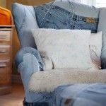 denim chair - 50 + Denim Jeans Re-purpose/Recycle Crafty Inspirations. « DIY Crafty Projects