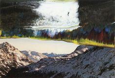 St. Moritz » Winter » Overpainted Photographs » Art » Gerhard Richter