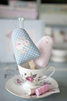 Cute Pincushion idea.