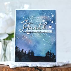 SAF 2016: Pickled Paper Designs: Stamp-A-Faire - Starry Night (Amy Sheffer)