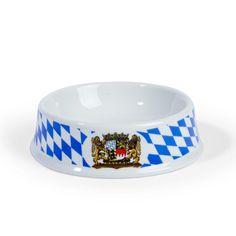 Der absoluter Hingucker für alle Katzenfans. Der Katzennapf im weiß-blauen Bayerndesign mit Wappen. Der massive Katzennapf aus Keramik hat ein ordentliches Gewicht das eine gute Standfestigkeit gewährleistet Das...