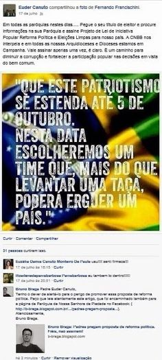 Bruno Braga: NOTA DE ESCLARECIMENTO.