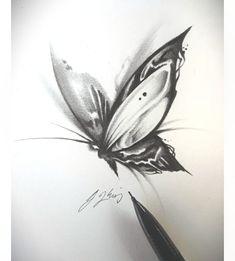 Random Butterfly Sketch 4 . . . #butterfly #tattoo #butterflytattoo #sketch #doodle #doodles #darkart #graphicdesign #animation #graphicart… Butterfly Sketch, Butterfly Tattoo Designs, Butterfly Design, Sketch 4, Doodle Sketch, Art Sketches, Graphic Art, Graphic Design, Beautiful Love