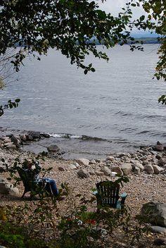 Reminds me of Grandma and Grandpa's lot I <3 Lake Champlain, NY