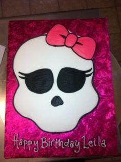 Birthday idea for Sophia's b day cake #monsterhigh