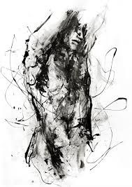 line drawings of human body art abstract - Google Search