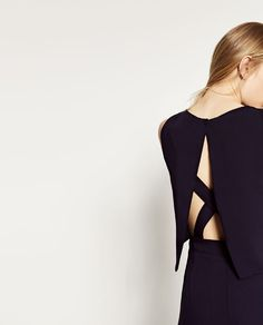 Image 6 of JUMPSUIT WITH OPEN BACK from Zara