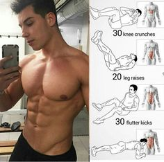 how to get ripped abs get a strong core core workout cutting stack how to burn fat Gym Workout Chart, Gym Workout Videos, Abs Workout Routines, Ab Workout At Home, Fun Workouts, Biceps Workout, Muscle Fitness, Fitness Tips, Gym Fitness