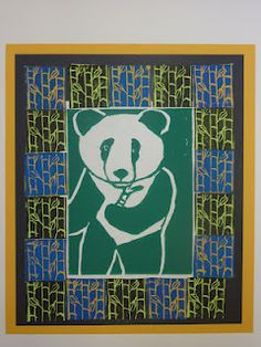 A must, visit the webstie for more amazing examples. The Calvert Canvas: Adventures in Middle School Art!: Flora and Fauna Printmaking Middle School Art Projects, Art School, High School, 7th Grade Art, Sixth Grade, Grade 3, Animal Art Projects, Art Curriculum, Teaching Art
