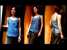 Cute summer top tutorial in French